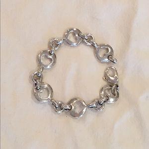 Tiffany & Co Retired Heart Link Bracelet